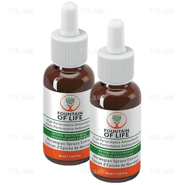fountain of life drops 2 bottles pack